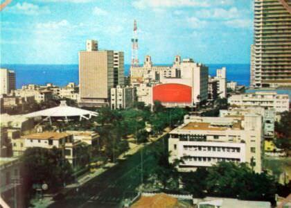 008. Гавана (Красное здание - кинотеатр Яра)