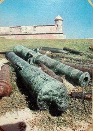 162. Крепость Сан-Педро де ла Рока дель Морро. 1643-1665. Сантьяго-де-Куба