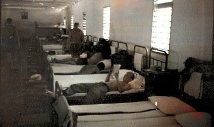 1976. В обеденный перерыв 2 часа отдыха перед заступлением в наряд.