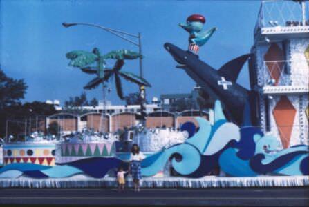 1982. Подготовка к карнавалу