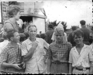 055. На встрече с Терешковой, июль 1963