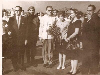 1963, 8 октября. Валентина Терешкова прилетела в Гавану.