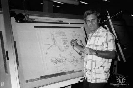 1989. Завод Пунта Горда, группа Авторского надзора, фото 8