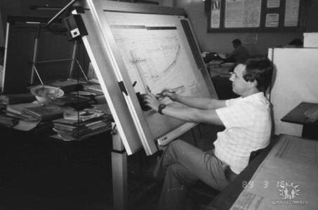 1989. Завод Пунта Горда, группа Авторского надзора, фото 18
