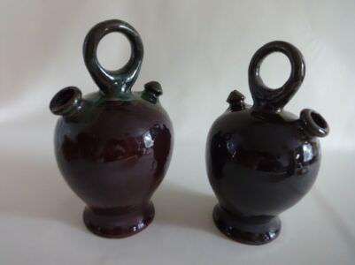 Кувшины из керамики. 80-е годы. Фото 2.