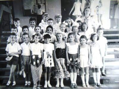 1986. Советская школа в Лас-Колорадас. 2 класс