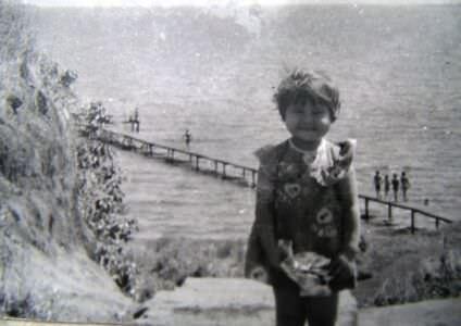 1985-1986. Спуск и мостки в Лас-Колорадас.