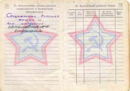 07. Военный билет, стр.12-13