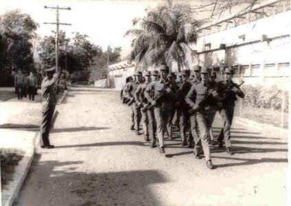 267. 1983 осень - 1985 весна. Строевая подготовка
