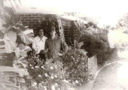 268. 1983 осень - 1985 весна. Около столовой