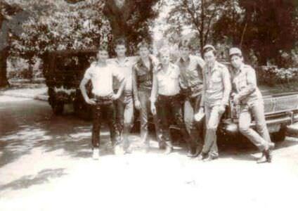 274. 1983 осень - 1985 весна. Около «Волги».