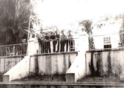275. 1983 осень - 1985 весна. У дома-музея Хемингуэя.