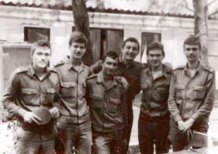 283. 1983 осень - 1985 весна. Групповой снимок
