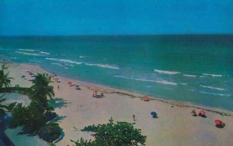 090. Пляж Варадеро. Матансас.
