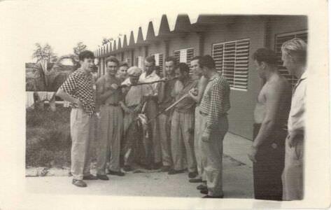 06. После удачной подводной охоты. Октябрь 1962 года. База «Гранма».