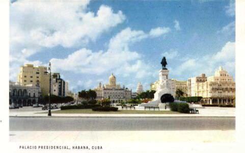 57. Президентский дворец на Портовой набережной Гаваны.