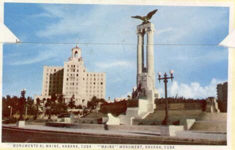 58. Монумент «Майя». Гавана.