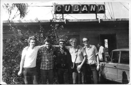 143. 1982-1984. Группа «Ралли». Фото 05. Группа «Ралли», поздняя осень 1982 года, фото 1.