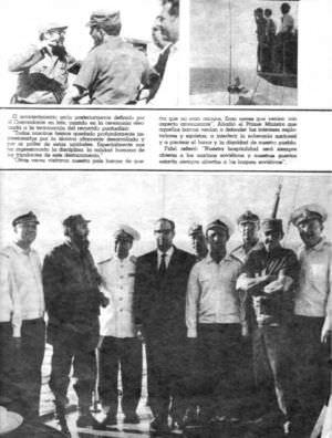 040. Спецвыпуск журнала о визите советских ВМФ на Кубу в 1969 году, лист 1