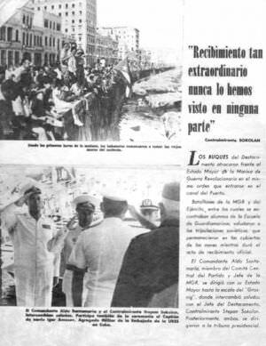 042. Спецвыпуск журнала о визите советских ВМФ на Кубу в 1969 году, лист 3