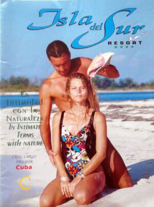 Рекламный туристический  журнал. 80-е годы. Обложка