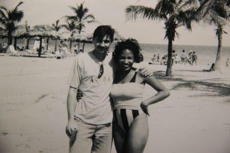 1992, пляж Санта-Мария, -04