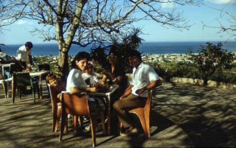 1988-12-31. Смотровая площадка. Вид на Гуанабо. Ресторан на горе. Фото 2