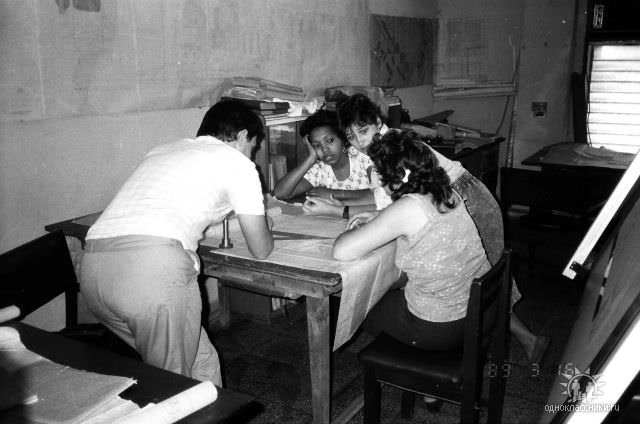 1989. Завод Пунта Горда, группа Авторского надзора, фото 13