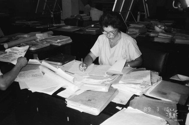 1989. Завод Пунта Горда, группа Авторского надзора, фото 15
