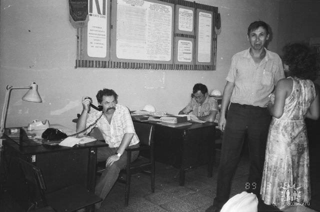 1989. Завод Пунта Горда, группа Авторского надзора, фото 16