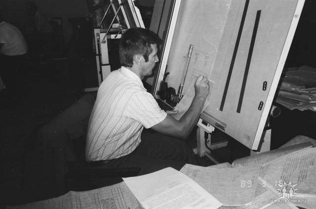 1989. Завод Пунта Горда, группа Авторского надзора, фото 19