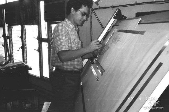 1989. Завод Пунта Горда, группа Авторского надзора, фото 20