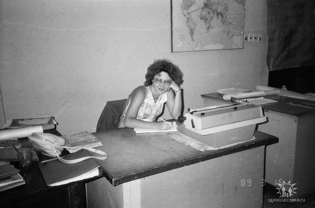 1989. Завод Пунта Горда, группа Авторского надзора, фото 21