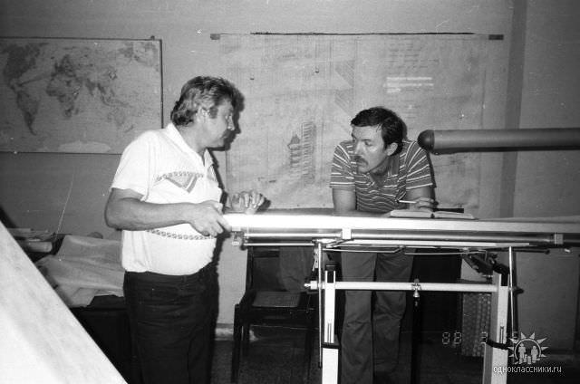 1989. Завод Пунта Горда, группа Авторского надзора, фото 22