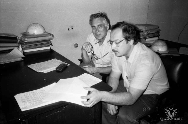 1989. Завод Пунта Горда, группа Авторского надзора, фото 23