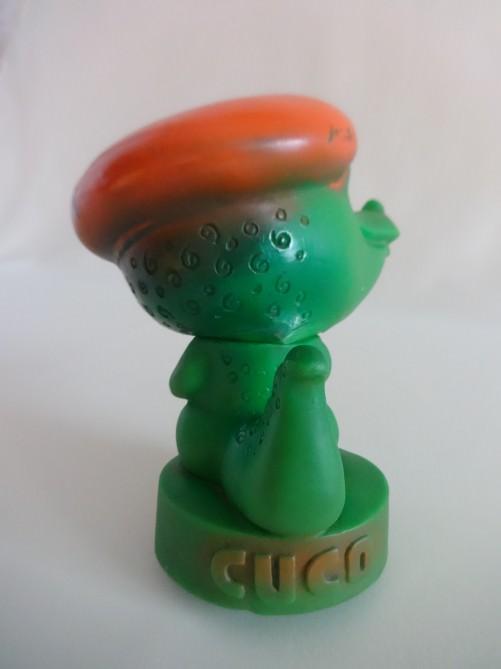 106. 1982. Зеленый крокодильчик - символ Панамериканских игр 1982 года в Гаване. Ракурс 4.