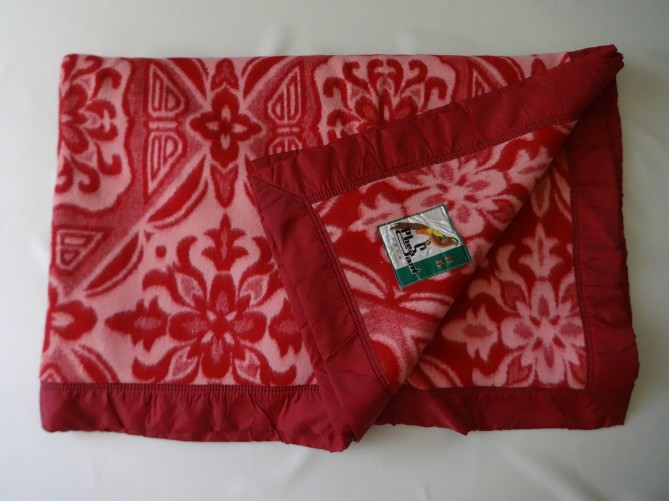 Китайское одеяло с отоварки. 1 экспонат.