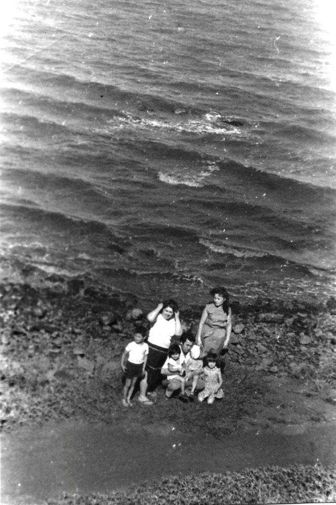 1985-1986. На берегу океана. Лас-Колорадас.