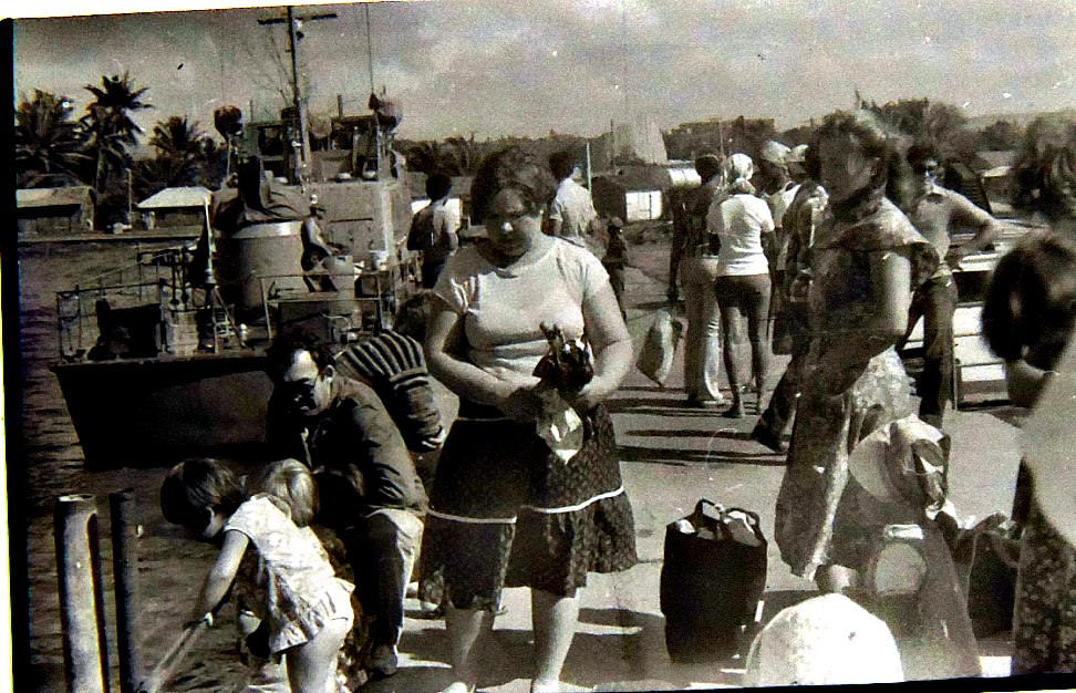 1985-1986. Сборы на остров Кайо Моа.