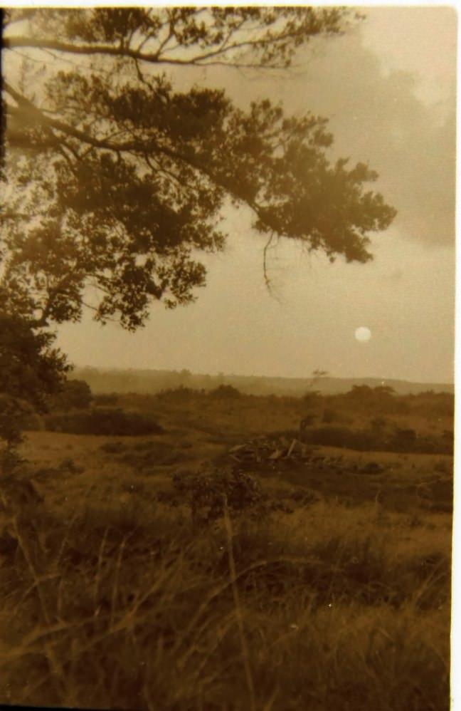 1985-1986. На берегу недалеко от Лас-Колорадас.