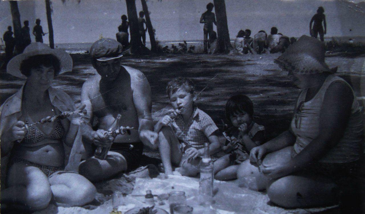 1985-1986. Остров Кайо Моа.