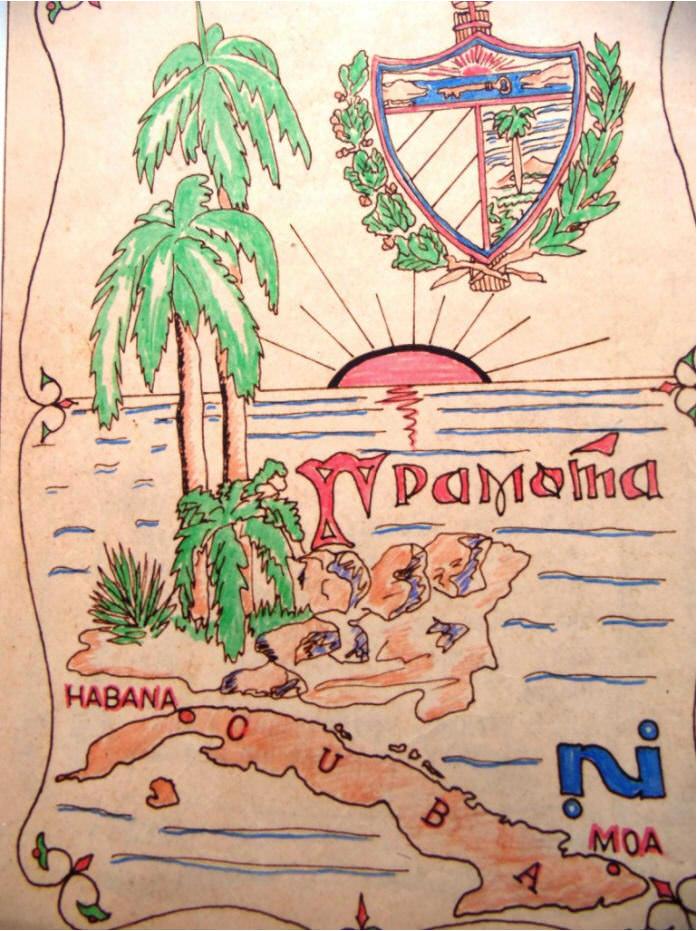 1986-12-ХХ. Обложка иронично-юмористической грамоты-буклета, вручённой товарищами по работе перед моим отъездом в Союз.