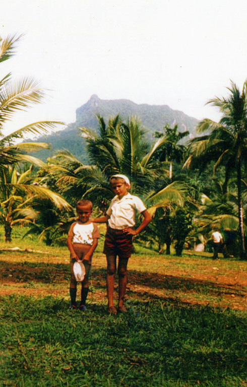 Баракоа. 1983-1985. База отдыха. 1