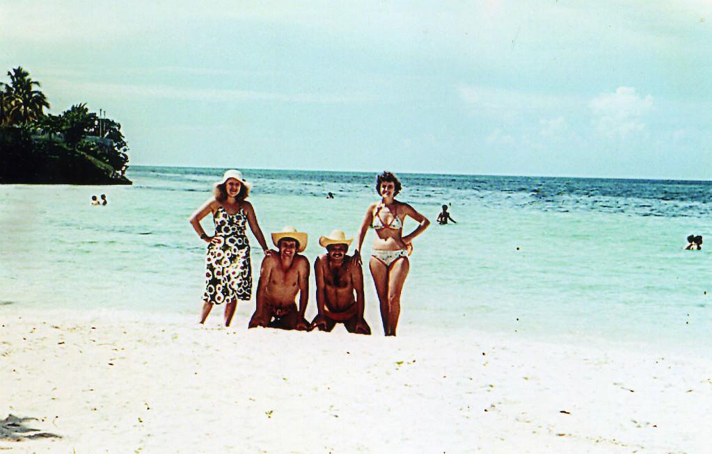 Гуардалавака. 1983-1985. На берегу.