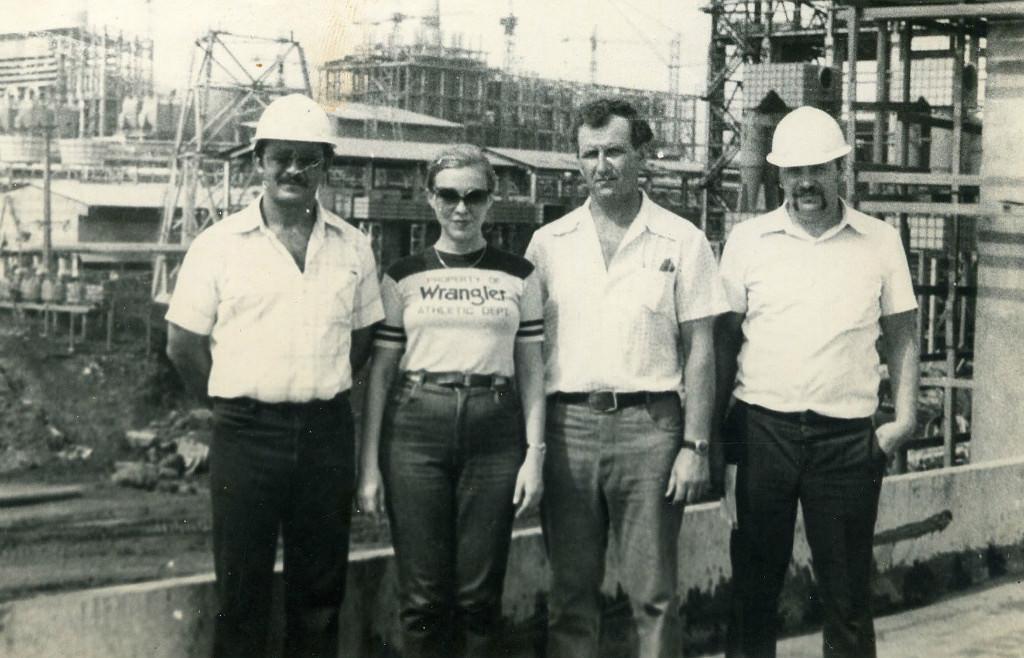 1983-1985. 6-й комплекс с начальником группировки
