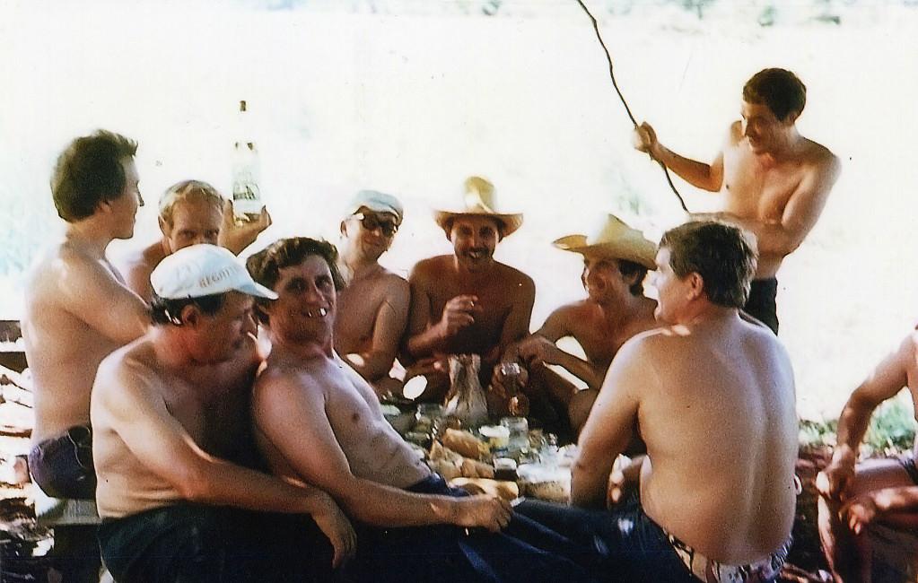 1983-1985. 6-й комплекс на шашлыках