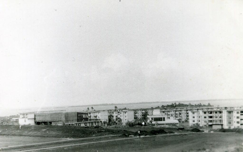 1983-1985. Вид с 20-го дома