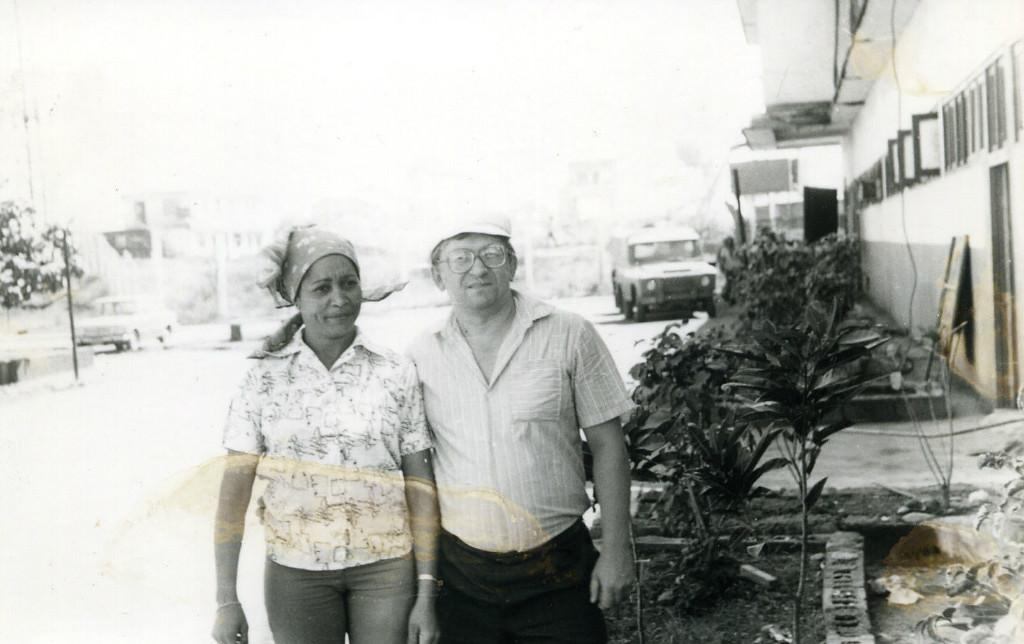 1983-1985. Рысаев с Мерседес