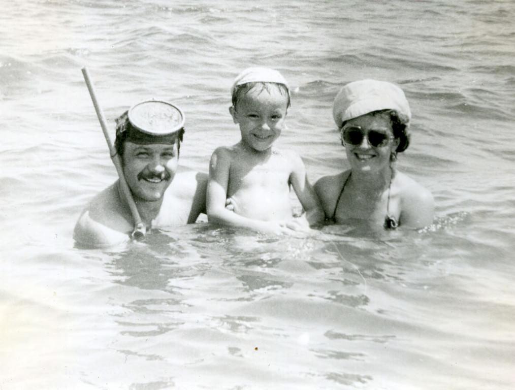 1983-1985. Семья Юрченко.