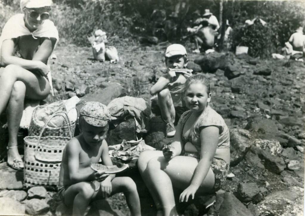 1983-1985. Кайо Гуам.